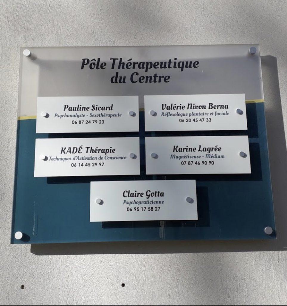 Pôle thérapeutique du Centre Montélimar